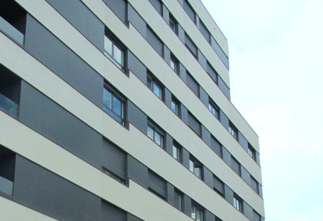 Buildings in Iturrama