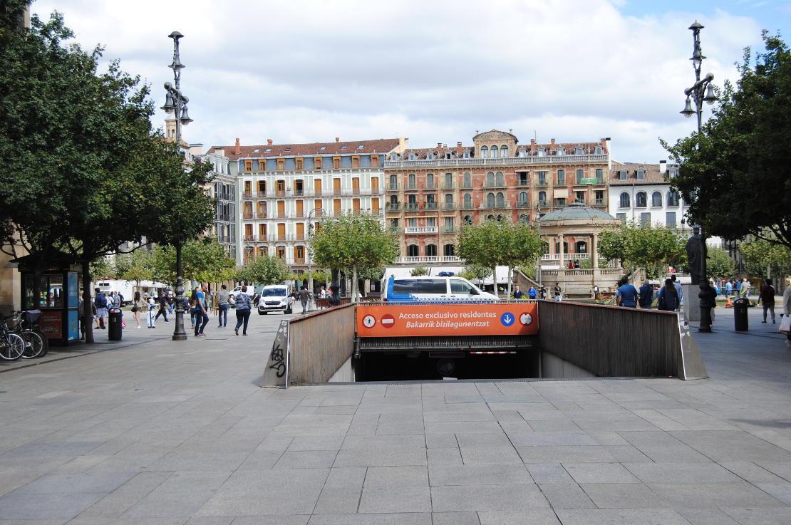Plaza del Castillo - Naserges
